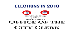 Candidate Elections 2018 logo