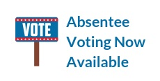 Absentee Voting Now Available Image