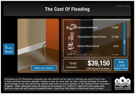 Flood Cost of flooding