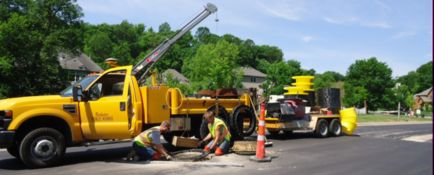Sanitary Sewer - Manhole Adjustment