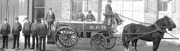 Second Fire Hall 1886 - Horse Drawn Apparatus