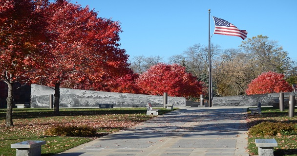 Soldiers Field Memorial Fall