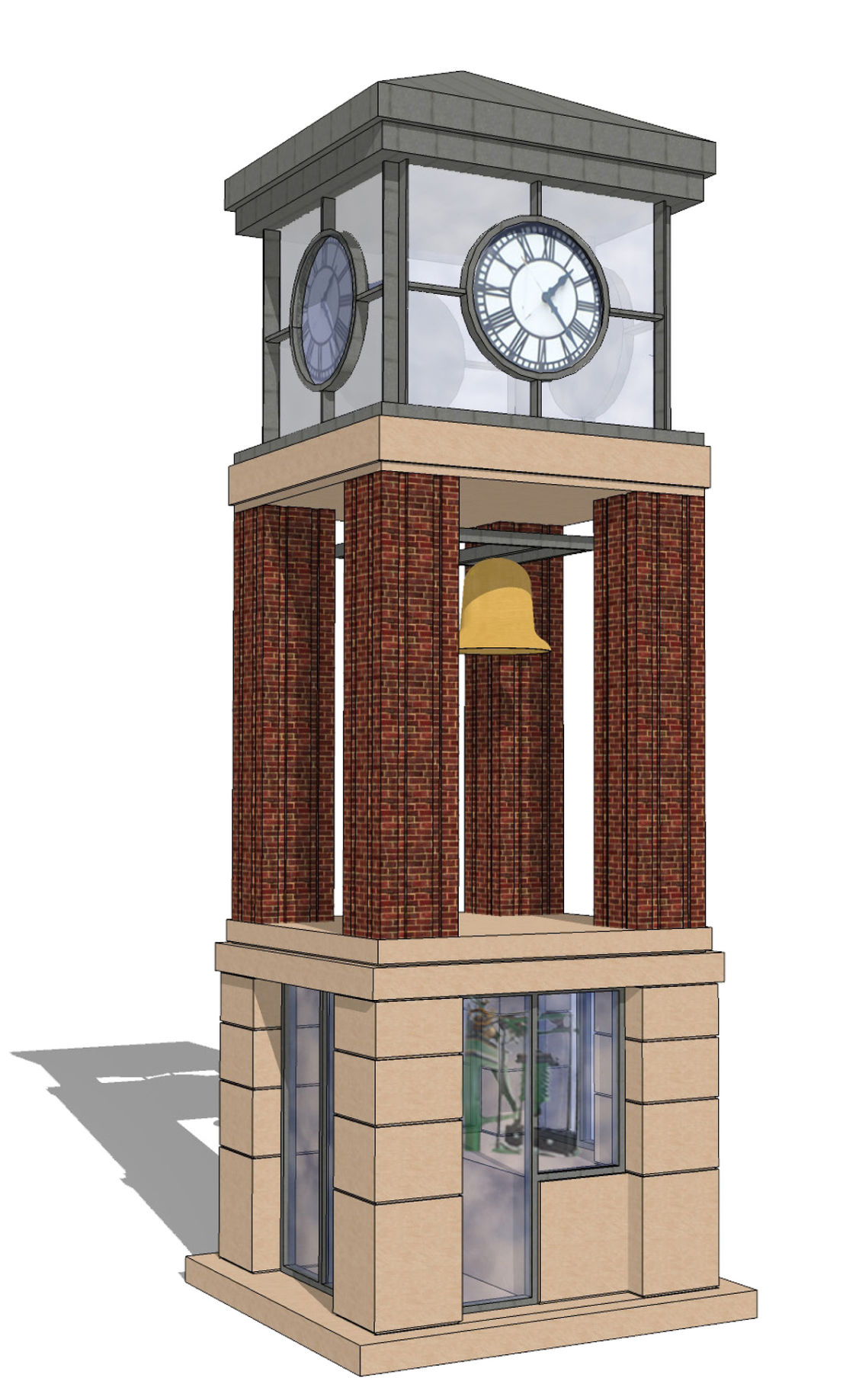 Proposed Clock Tower