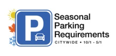 Seasonal Parking Requirements Image