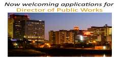 Accepting Applications for Director of Public Works